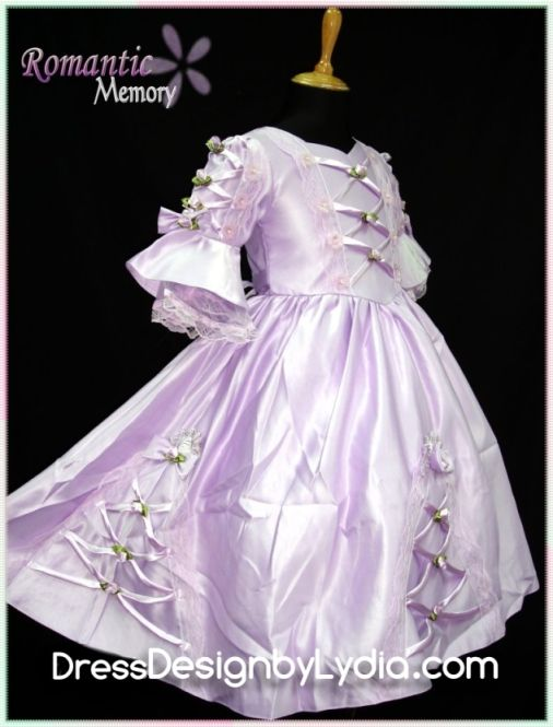 Cheap Pageant Dresses and Flower Girl Dresses For Less - Purple Victorian Princess Dress Little Girl Wedding & Evening Gowns
