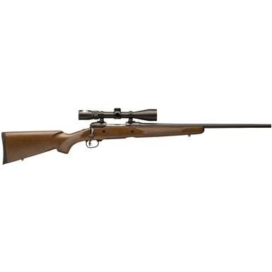 "Savage 110 Trophy Hunter XP Package,Bolt Action,.270 Winchester, 22"" Barrel, Nikon Scope, 4+1 Rounds"
