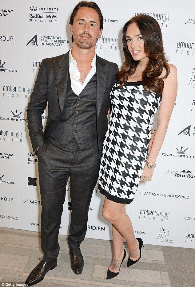 Tamara Ecclestone.. Balmain houndstooth dress..... - Celebrity Fashion Trends