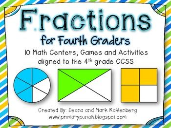 how to teach equivalent fractions to 4th graders