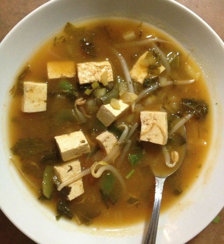 Korean Bean Curd (Miso) Soup Recipe — Dishmaps