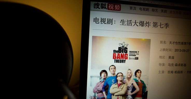 "Four U.S. television shows, including ""The Big Bang Theory"" and ""The Good Wife,"" are no longer available on China's largest video websites after the government escalated a crack..."