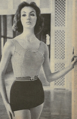 1950's Swimsuit. <3 when they were beautiful
