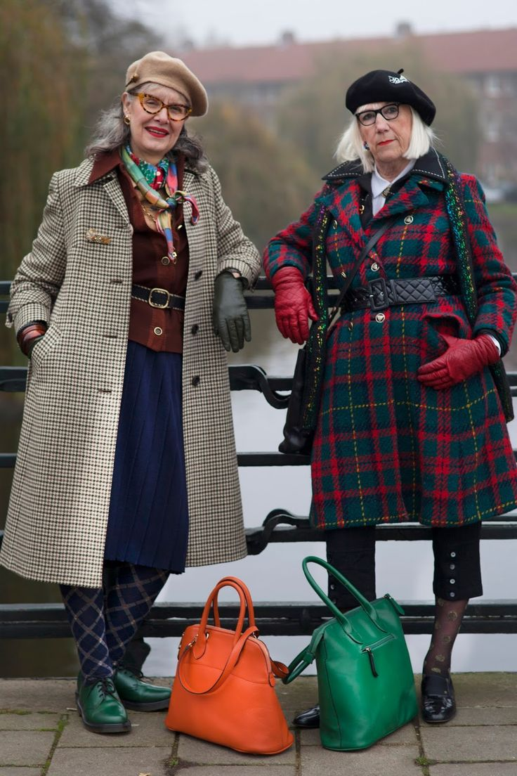 ADVANCED STYLE: Ruth and Anne Marie