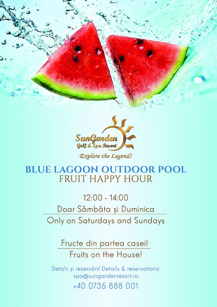 August Fruit Happy Hour - Sun Garden Resort
