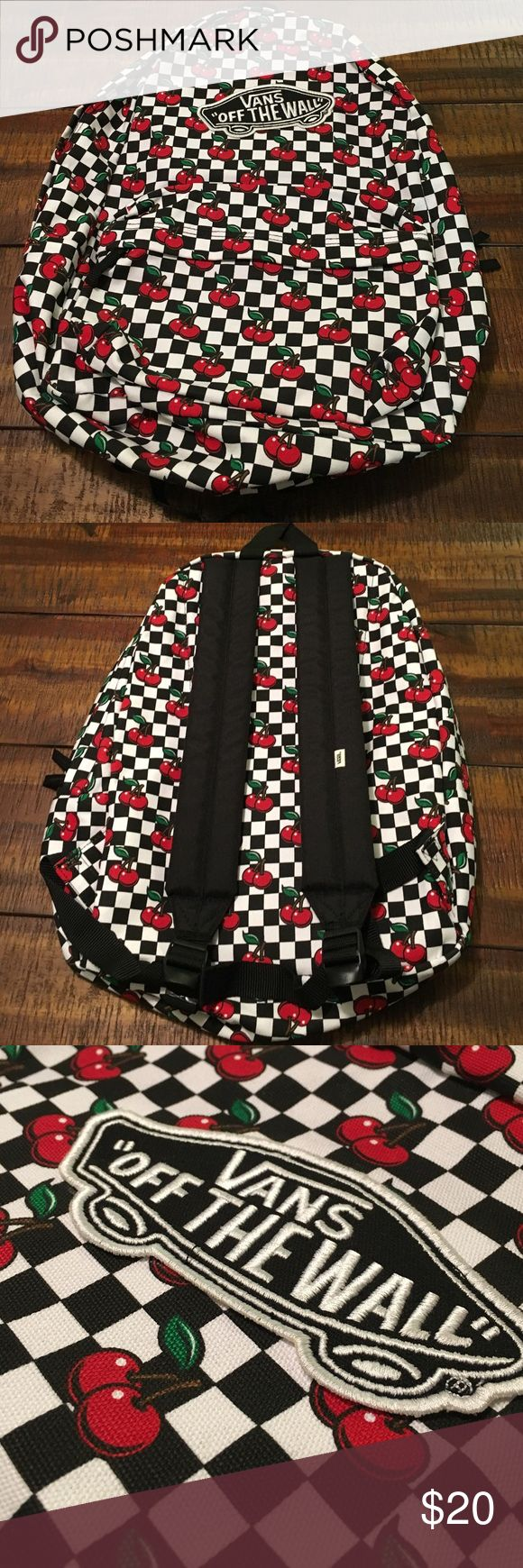 Vans Backpack New without tags.  I removed the tags but it has never been used. It's been stored in a tote in my closet.  Let me know if you have any questions. Xoxo  Vans Bags Backpacks