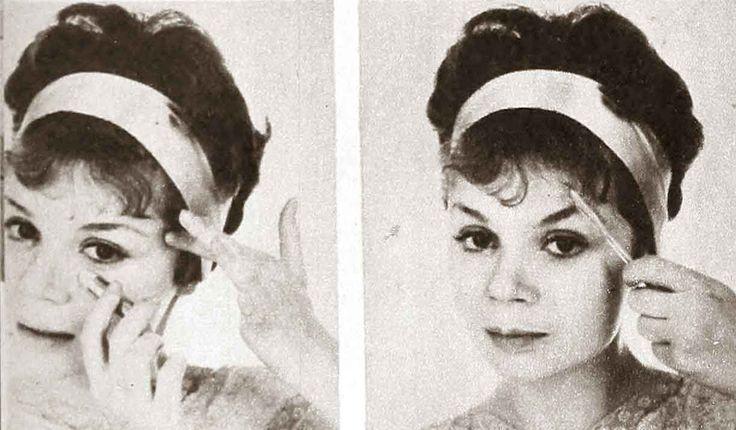167 best 1960s Makeup images on Pinterest | 1960s makeup ...