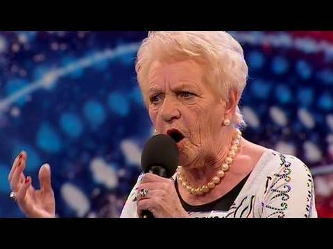 ▶ Janey Cutler - Britain's Got Talent 2010 - Auditions Week 4 - YouTube -  80-year-old Janey Cutler has been told she has a wonderful singing voice, and her friends have been egging her on to enter the competition as she's got nothing to lose. Can we find yet another good singer on the Glasgow stage?