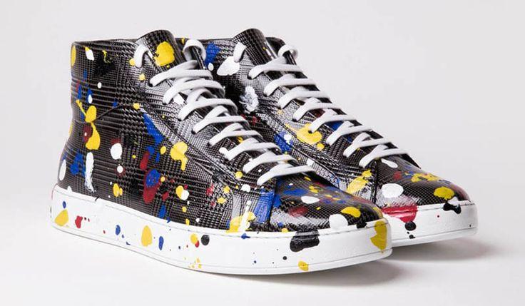 Dior Homme dévoile sa collection de sneakers aux allures artistiques pour le printemps 2017