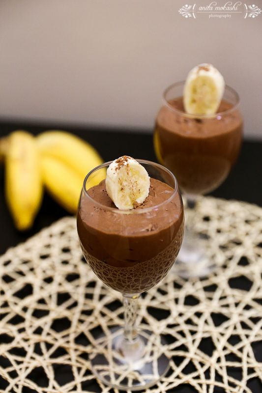 chocolate mousse #chocolate mousse #desserts #sweets #mousse #banana ...
