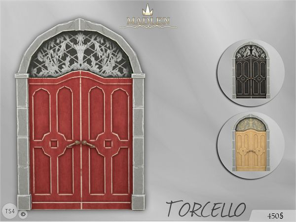 The Sims Resource: Madlen Torcello Door by MJ95 • Sims 4 Downloads
