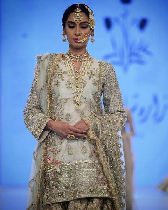 Pakistani bridal by Zara Shahjahan.