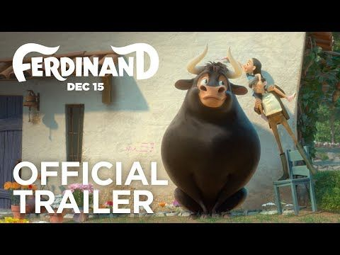 Ferdinand | Official Trailer [HD] | 20th Century FOX #TrailerAlert - FERDINAND tells the story of a giant bull with a big heart. After being mistaken for a dangerous beast, he is captured and torn from his home. Determined to return to his family, he rallies a misfit team on the ultimate adventure. Set in Spain, Ferdinand proves you can't judge a bull by its cover.  In Theaters December 15, 2017  Cast: John Cena, Kate McKinnon, Gina Rodriguez, Daveed Diggs, Gabriel Iglesias, Bobby Cannavale…