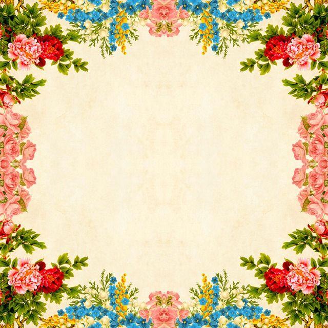 Free Image On Pixabay Flower Background Floral Vintage In 2020 Flower Backgrounds Floral Make A Donation