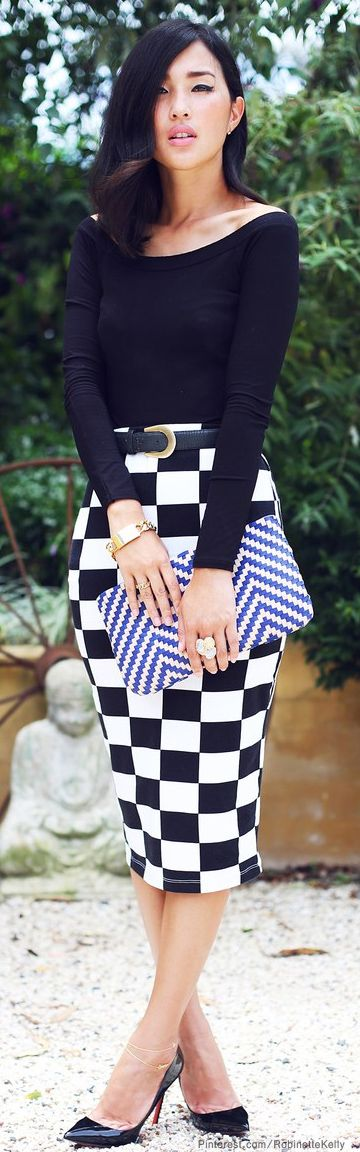 Black and White Street Style
