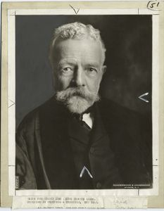 Henry Cabot Lodge, 1850-1924,Chairman of the Senate committee of Foreign Relations.