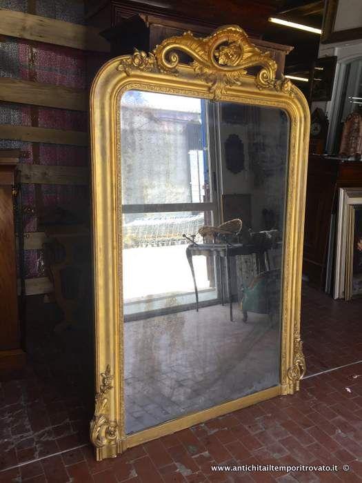 Oggettistica d`epoca Specchi e cornici Antica e grande