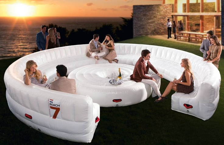 Beach7 AirLounge XL – A 30 Person Inflatable Lounge, $6955
