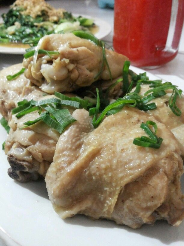 Homemade Hainanese Chicken
