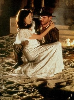 Indiana Jones and Marion Ravenwood. I'd forgotten how much I love this movie.