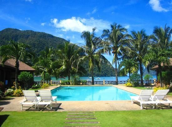 El Nido Resorts, Palawan, Philippines. One of best from Palawan, Philippines. Tropical Paradise.