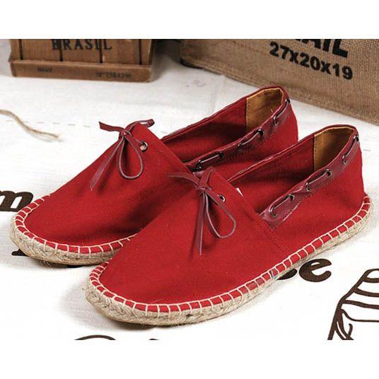 Toms Classics Mens canvas shoes Red [Mens Toms shoes Classics
