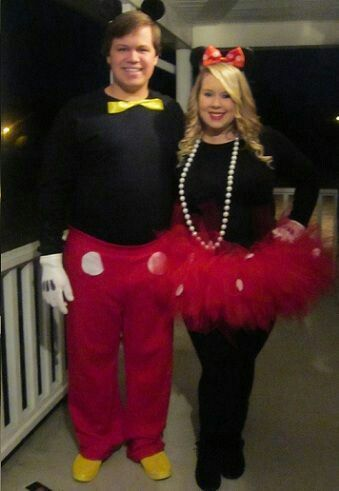 halloween alley minnie mouse