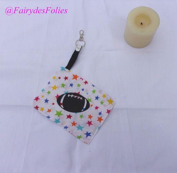 Cadeau rugby, porte clé personnalisable avec logo image ou prénom : Porte clés par fairydesfolies