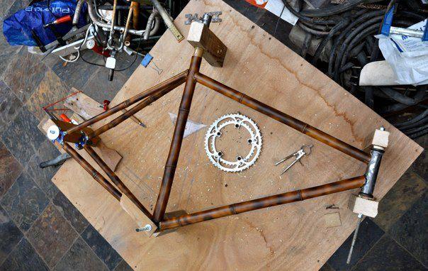 first bamboo bike