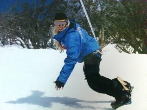 How To Get In Shape For This Ski Season snow boarding fitness for skiing female snowboarder australia