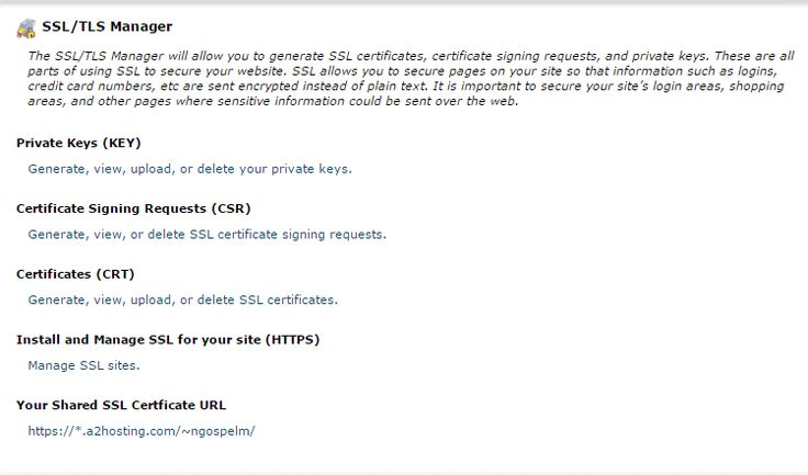 DO YOU NEED A GOOD HOST? TO SERVE YOU BETTER SPEEDS YOU DESIRE IN YOUR? THEN LOOK FOR IT NO MORE, JUST FOLLOW OR CLICK HERE TO GET STARTED!!! This article describes how to generate and install a self-signed SSL certificate. Note:Most WebHosting servers support Server Name Indication (SNI), which means SSL certificates do not …