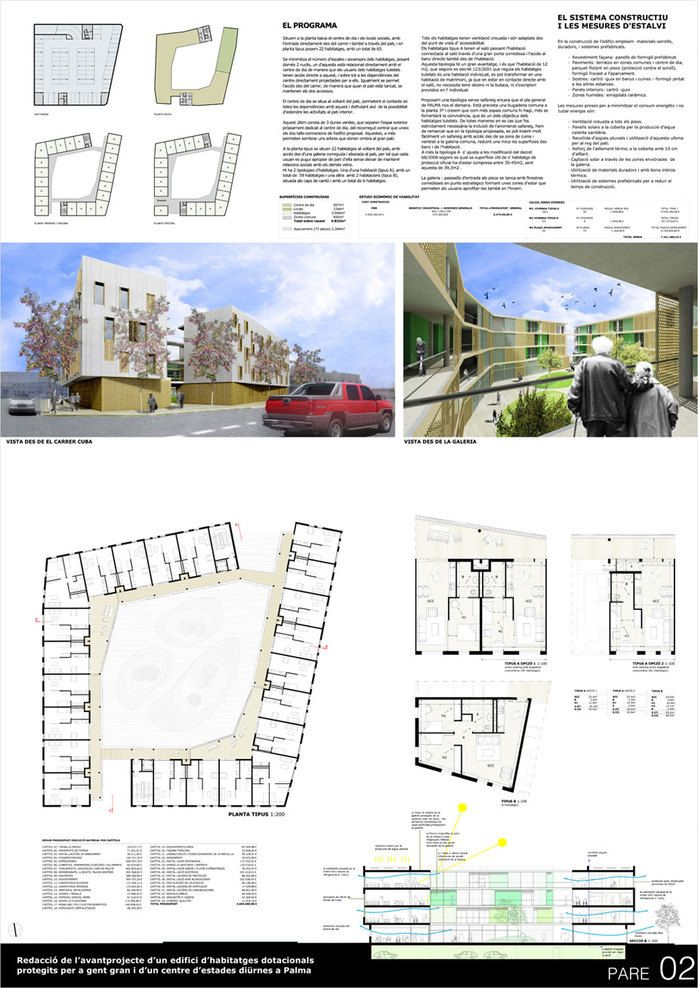 70 best architecture elderly housing images on pinterest for Senior house plans