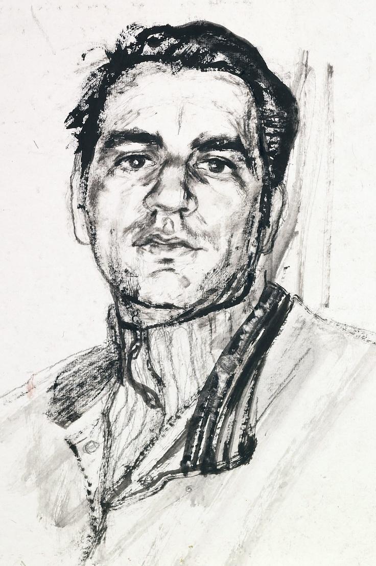 MATTEO PUGLIESE -  ritratto dipinto da Francesco Santosuosso