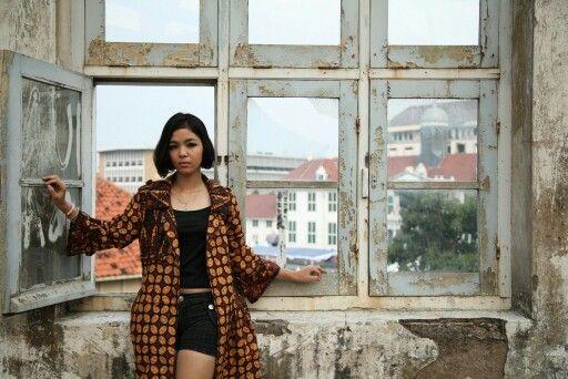Girl on the window #2