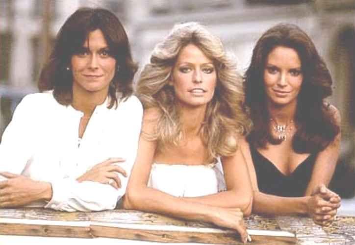 Kate Jackson, Farrah Fawcett, and Jaclyn Smith -- Charlie's Angels