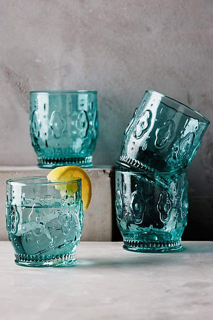 Anthropologie Granada Juice Glass Set