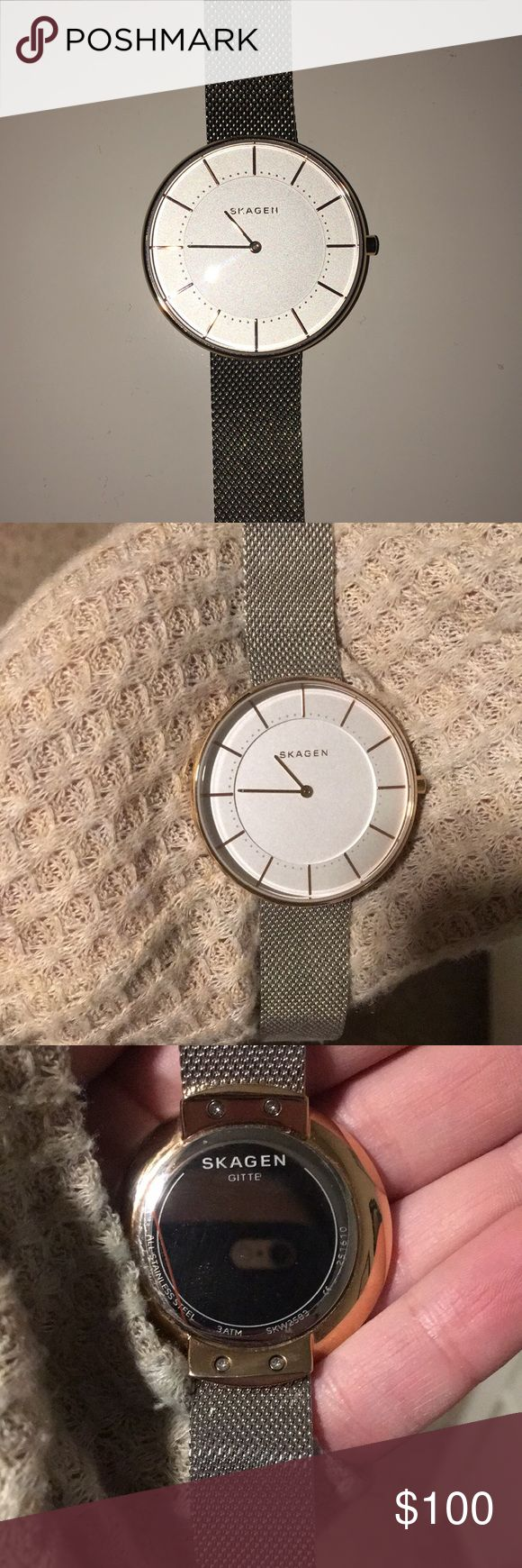 I just added this listing on Poshmark: Gold and silver Skagen watch. #shopmycloset #poshmark #fashion #shopping #style #forsale #Skagen #Jewelry