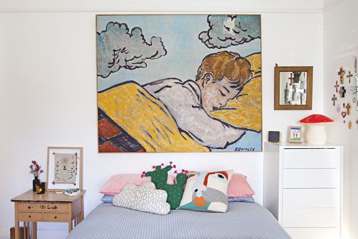 Madeleine & Karl's Colorful and Creative Family Home