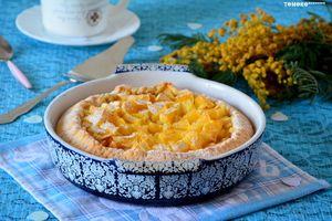 КОКОСОВЫЙ ТАРТ С ЯБЛОКАМИ И АПЕЛЬСИНОМ Нежный пирог со вкусом кокоса и апельсиновыми нотами http://www.koolinar.ru/recipe/view/123691