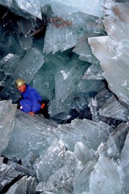 Giant crystal cave, Mexico