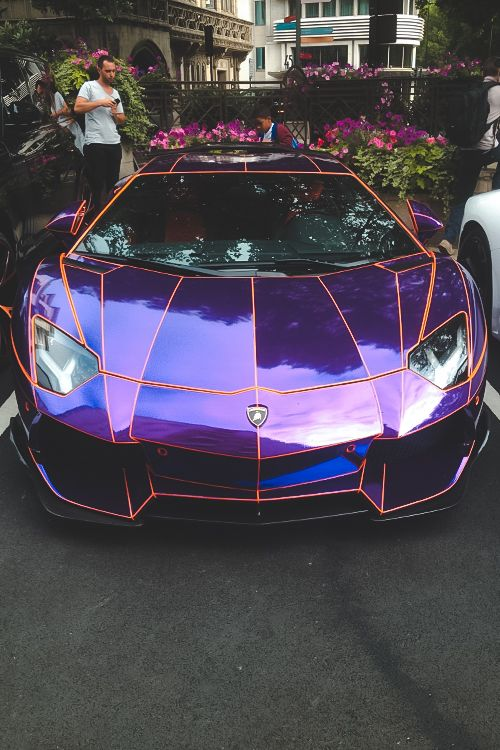 Purple Lambo, For Wanting To Look Like A Purple Cars Vs Lamborghini Cars  Sports Cars Sport Cars