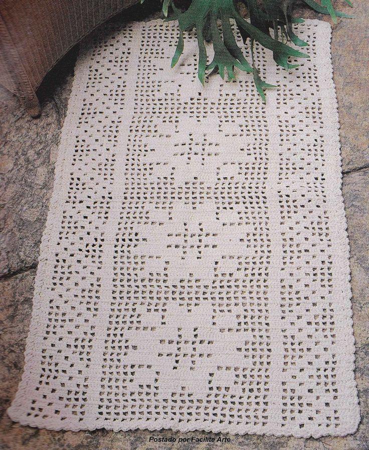 25 melhores ideias sobre toalha de mesa retangular no for Tapete mesa