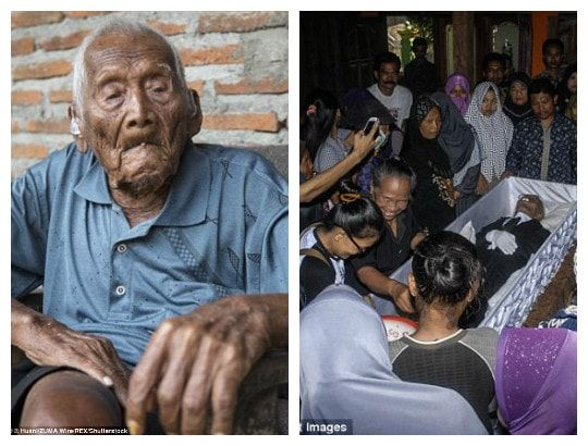 BREAKING NEWS ACROSS THE WORLD  | QUEEN HORLA BLOG : Photos from the funeral of world's 'oldest man' wh...