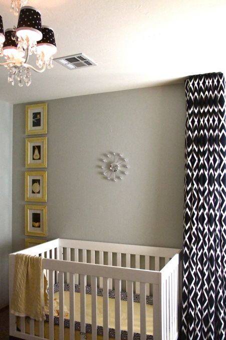 Best Nursery Grey Big Baby Small Space Images On Pinterest