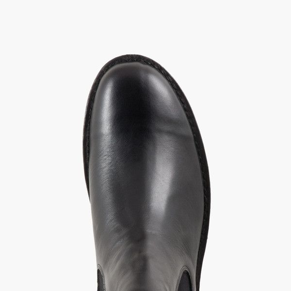 Chelsea Boots in Italian Full-grain Leather – Black