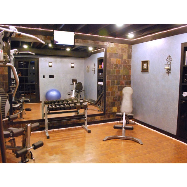 42 Best Home Gym Fitness Designs Images On Pinterest: 65 Best Images About Exercise Rooms On Pinterest