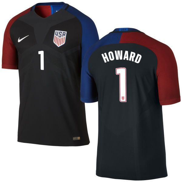 tim howard away authentic mens jersey 2016 usa soccer team