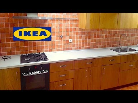 Official Ikea Kitchen Installation Video Part 1 - YouTube