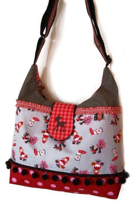 Taschen-Schnittmuster AllesDrin | Taschen | Pinterest | Sewing ...