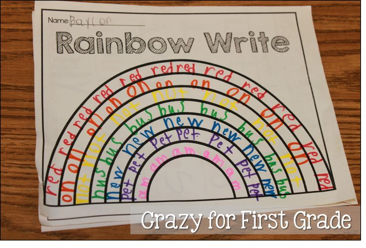 Crazy for First Grade: Word Work Stations
